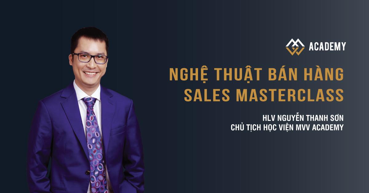 Nghệ thuật Bán hàng - Sales MasterClass