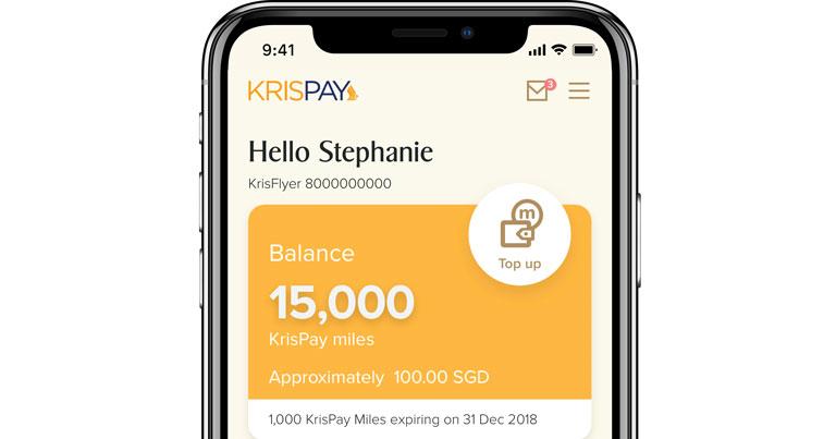ứng dụng khách hàng trung thành của hàng không singapore