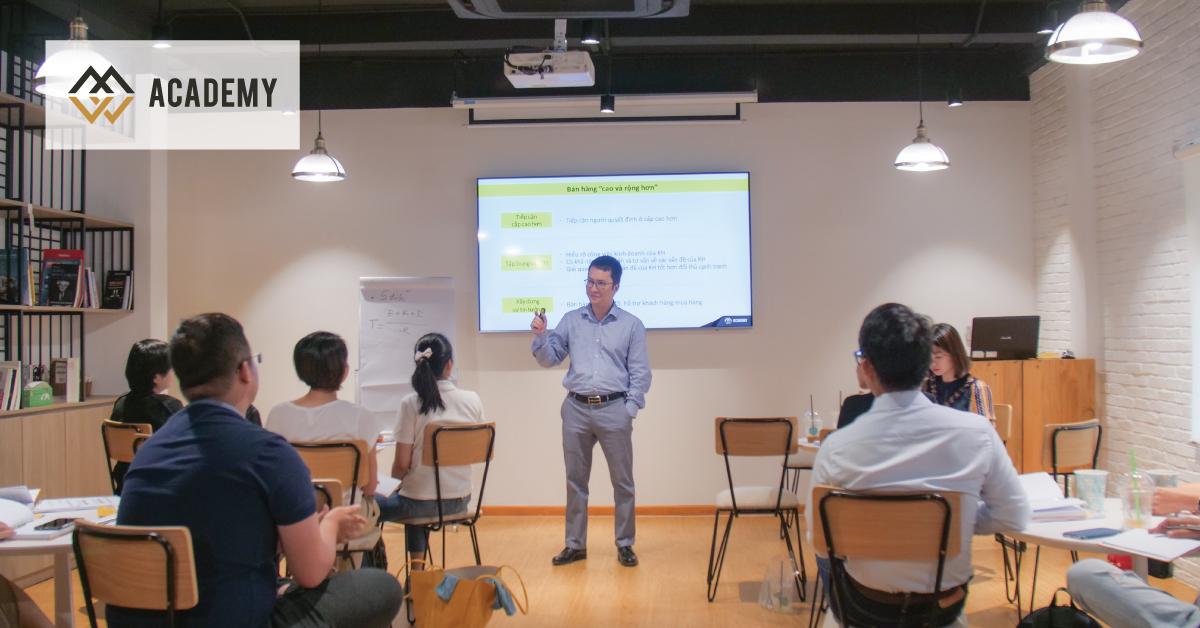 Trải nghiệm học tập Blended Learning trong khóa Nghệ Thuật Bán Hàng - Sales MasterClass