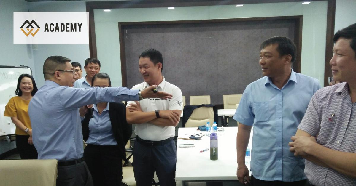 HLV Lê Quang Vũ huấn luyện Truyền Thông Nội Bộ cho Ban Giám Đốc Tổng Công ty Sonadezi