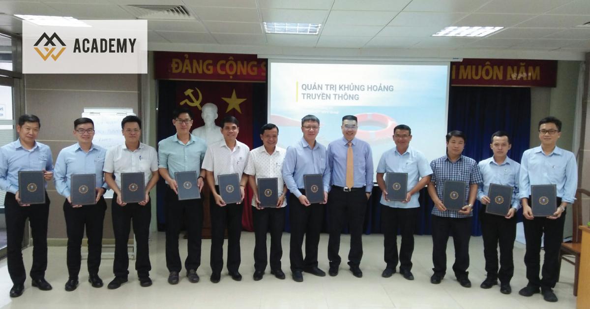 HLV Lê Quang Vũ huấn luyện Truyền Thông Nội Bộ và Quản Trị Khủng Hoảng Truyền Thông cho cán bộ quản lý Công ty Sonadezi Giang Điền